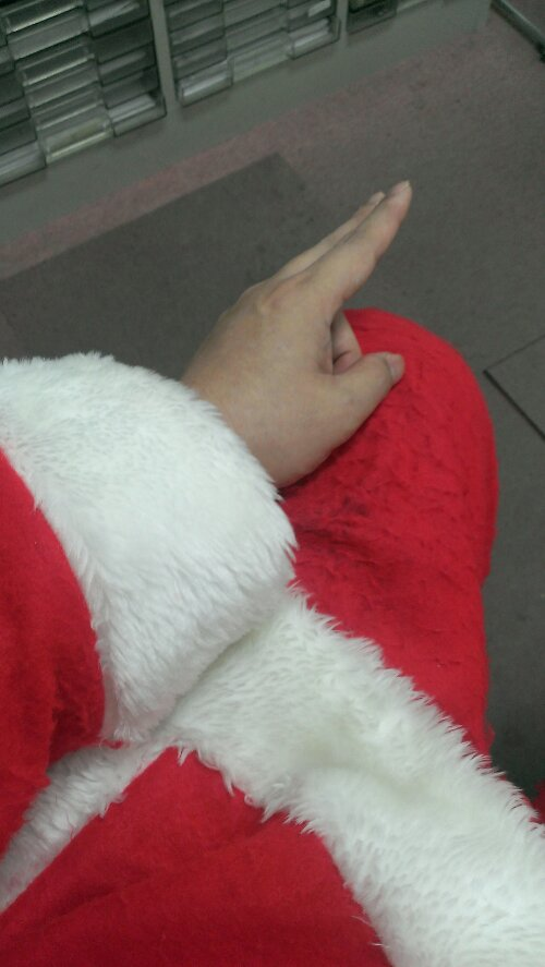 クリスマスサンタ2013